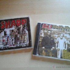 CDs de Música: OI! MADE IN MALAYSIA Y SHARP PUNK & OI! - PACK 2 CD RECOPILATORIOS PUNK OI! - NUEVOS PRECINTADOS. Lote 50027454