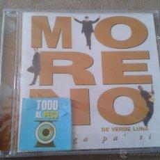 CDs de Música: CD NUEVO PRECINTADO MORENO DE VERDE LUNA JUEGA PA' TI PA TI 12 TEMAS. Lote 66957343