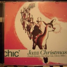 CDs de Música: CHIC JAZZ CHRISTMAS - FRANK SINATRA, NAT KING COLE,PEGGY LEE....- 14 TRACKS - CD. Lote 50040926