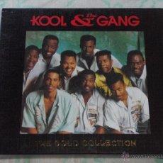 CDs de Música: KOOL & THE GANG ( THE GOLD COLLECTION ) DOBLE CD CON LIBRILLO. Lote 50067979