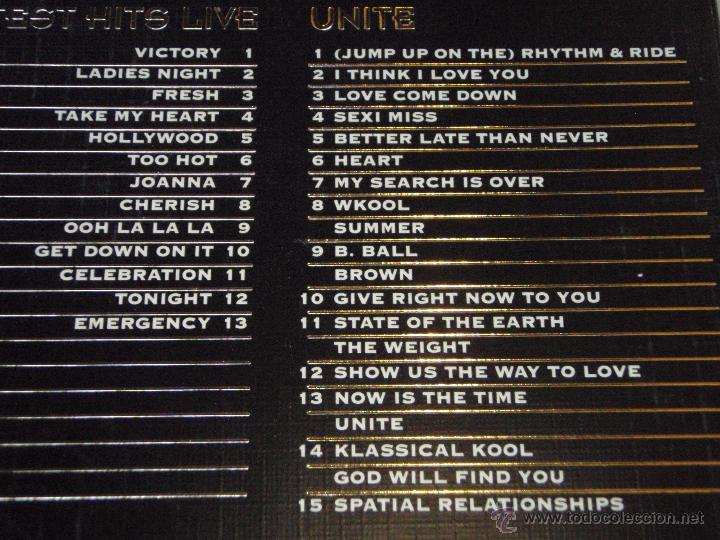 CDs de Música: KOOL & THE GANG ( THE GOLD COLLECTION ) DOBLE CD CON LIBRILLO - Foto 2 - 50067979