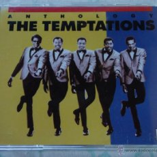 CDs de Música: THE TEMPTATIONS ( ANTHOLOGY ) DOBLE CD 1986-MOTOWN RECORDS. Lote 50068193