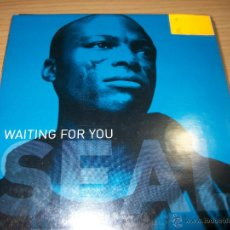 CDs de Música: CD SINGLE PROMO - SEAL - WAITING FOR YOU - CARDBOARD SLEEVE . Lote 50088357