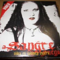 CDs de Música: VIDEO CD - VARIOUS ?– A SANGRE Y FUEGO VOL 4 - CARDBOARD SLEEVE. Lote 50088785