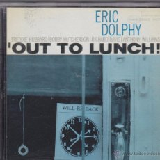 CDs de Música: ERIC DOLPHY - OUT TO LUNCH!. Lote 50102834