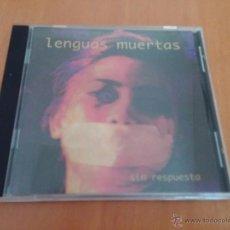 CDs de Música: LENGUAS MUERTAS - SIN RESPUESTA. Lote 50105913