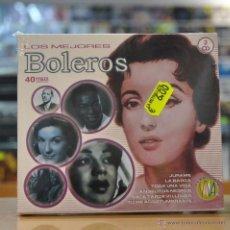 CDs de Música: VARIOS - LOS MEJORES BOLEROS - 2 CD. Lote 56368204
