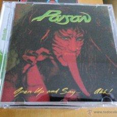 CDs de Música: POISON OPEN UP AND SAY AHH CD REMASTERIZADO CON BONUS TRACKS. Lote 50124976