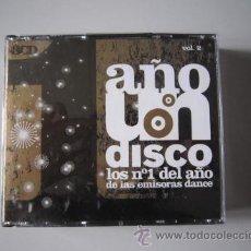 CDs de Música: CD TRIPLE - DANCE - UN AÑO DISCO (LOS Nº1 DEL AÑO DE LAS EMISORAS DANCE VOL.2) - 2005. Lote 50138433