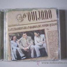CDs de Música: CD - LATINO - CAFÉ QUIJANO (LA EXTRAORDINARIA PARADOJA DEL SONIDO QUIJANO) - 1999. Lote 50140636