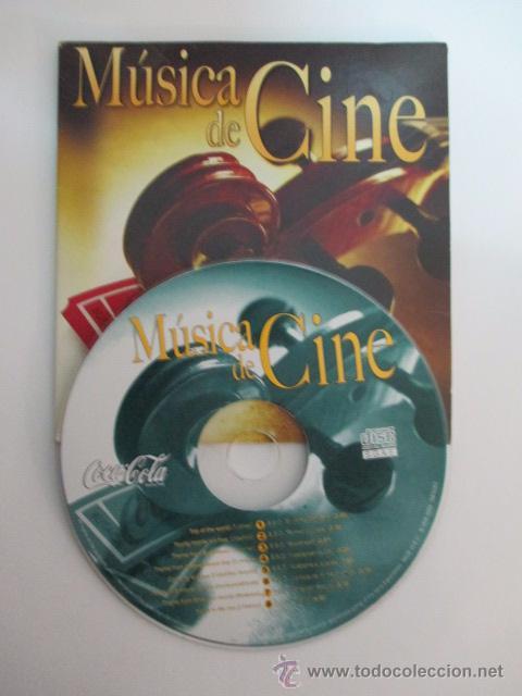 MUSICA DE CINE, CD PROMOCIONAL DE COCA COLA,OCHO CANCIONES (Música - CD's Otros Estilos)