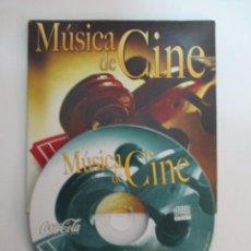 CDs de Música: MUSICA DE CINE, CD PROMOCIONAL DE COCA COLA,OCHO CANCIONES. Lote 50152993