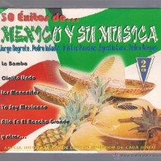 CDs de Música: MÉXICO Y SU MÚSICA - VARIOS MÉXICO (2CD NOVOSON 1998) JORGE NEGRETE, LOS PANCHOS, PEDRO INFANTE,. Lote 50350278