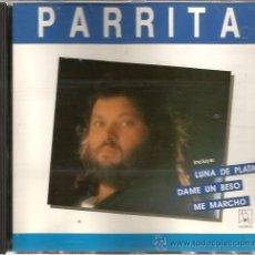 CDs de Música: CD PARRITA : LOS EXITOS ( LUNA DE PLATA, CALLEJON DEL SUEO, HAZME PRISIONERO, ETC ). Lote 50168871