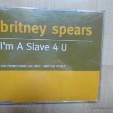 CDs de Música: BRITNEY SPEARS - I´M A SLAVE 4 U - CD SINGLE PROMOCIONAL 2001. Lote 50169924