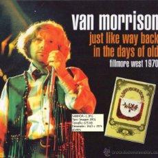 CDs de Música: VAN MORRISON - FILLMORE WEST, SAN FRANCISCO, CALIFORNIA, 9 OCTUBRE 1970. Lote 50174135