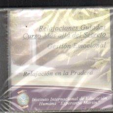 CDs de Música: RELAJACIONES GUIADAS. CURSO MAS ALLA DEL SECRETO Y GESTION EMOCIONAL. CD-VARIOS-994. Lote 180086983