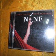 CDs de Música: NINE. ORIGINAL MOTION PICTURE SOUNDTRACK. CD. 2009.. Lote 50206851