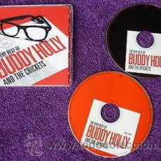 CDs de Música: BUDDY HOLLY AND THE CRICKESTS THE VERY BEST OF 2XCDS. Lote 50224813