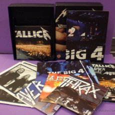 CDs de Música: METALLICA, SLAYER, MEGADETH & ANTHRAX - THE BIG 4: LIVE FROM SOFIA 5 CDS+2 DVDS+2 POSTERS+ 4 FOTOS. Lote 81268340