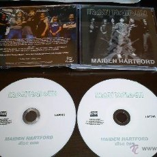 CDs de Música: IRON MAIDEN MAIDEN HARTFORD 2 CDR . Lote 50263194