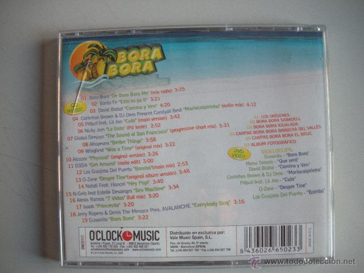 CDs de Música: MAGNIFICO CD Y DVD VIDEO - DE - B O R A -- B O R A - CON LA MEJOR MUSICA Y VIDEOS - - Foto 2 - 50307328