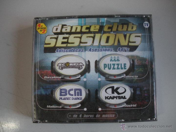 MAGNIFICO CD - DANCE CLUB SESIONS - 4 DISCOTECAS - 4 SESIONS - 4 DJ`S - (Música - CD's Techno)