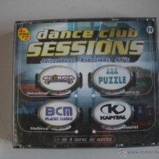CDs de Música: MAGNIFICO CD - DANCE CLUB SESIONS - 4 DISCOTECAS - 4 SESIONS - 4 DJ`S - . Lote 50307764