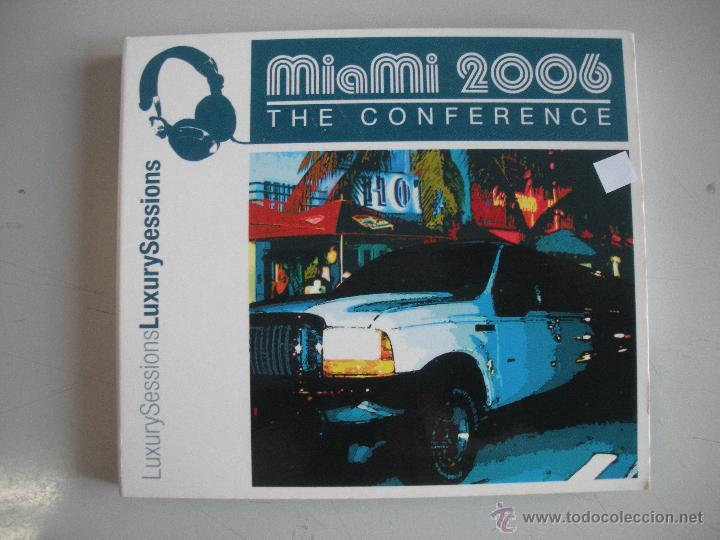 MAGNIFICO DOBLE CD - M I A M I - 2006 - THE CONFERENCE - (Música - CD's Techno)