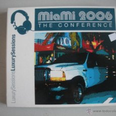 CDs de Música: MAGNIFICO DOBLE CD - M I A M I - 2006 - THE CONFERENCE - . Lote 50307842