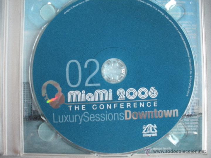 CDs de Música: MAGNIFICO DOBLE CD - M I A M I - 2006 - THE CONFERENCE - - Foto 3 - 50307842