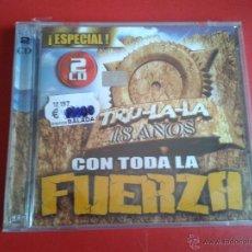 CDs de Música: 2 CD NUEVOS PRECINTADOS CON TODA LA FUERZA TRU-LA-LA TRULALA 18 AÑOS MÚSICA ARGENTINA. Lote 50315591