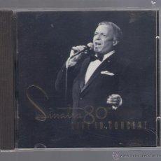 CDs de Música: FRANK SINATRA - SINATRA 80 TH. LIVE IN CONCERT (CD 1995, CAPITOL 7243 8 31723 2). Lote 50318927