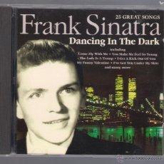 CDs de Música: FRANK SINATRA - DANCING IN THE DARK (25 GREAT SONGS) (CD 1996, DELTA MUSIC CD 6039). Lote 50318979