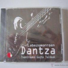CDs de Música: CD - RECOPILATORIO - LABEZOMORROEN DANTZA - 2009 - TXANTREAKO GAZTE TALDEAK - PRECINTADO - NAVARRA. Lote 50322850