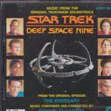 CDs de Música: STAR TREK - DEEP SPACE NINE - DENNIS MCCARTHY. Lote 50322950