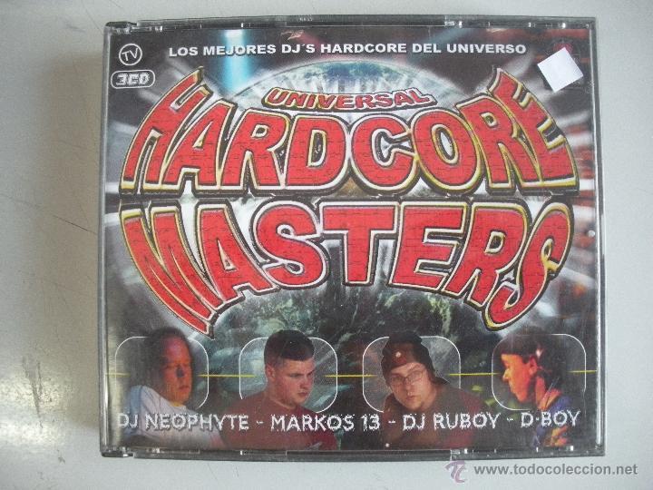 MAGNIFICO TRIPLE CD DE - UNIVERSAL - HARDCORE MASTERS - (Música - CD's Techno)