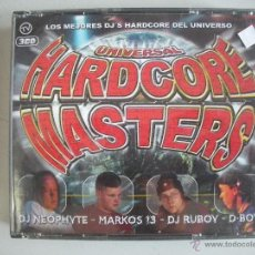 CDs de Música: MAGNIFICO TRIPLE CD DE - UNIVERSAL - HARDCORE MASTERS -. Lote 50340161