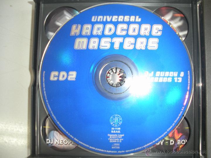 CDs de Música: MAGNIFICO TRIPLE CD DE - UNIVERSAL - HARDCORE MASTERS - - Foto 3 - 50340161