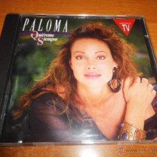 CDs de Música: PALOMA SAN BASILIO QUIEREME SIEMPRE CD ALBUM DEL AÑO 1990 CONTIENE 10 TEMAS HECHO EN HOLANDA RARO. Lote 53136070