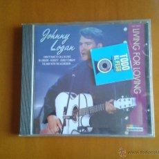 CDs de Música: CD NUEVO PRECINTADO JOHNNY LOGAN LIVING FOR LOVING CANTANTE GANADOR DOS VECES FESTIVAL EUROVISION. Lote 50357133