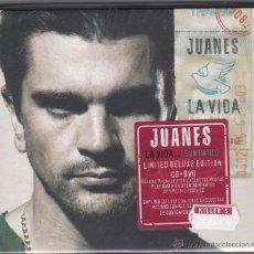 CDs de Música: JUANES - LA VIDA... ES UN RATICO - LIMITED DELUXE EDITION - CD + DVD. Lote 50386472
