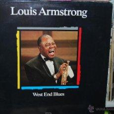 CDs de Música: LP - LOUIS ARMSTRONG - WEST END BLUES. Lote 80975662