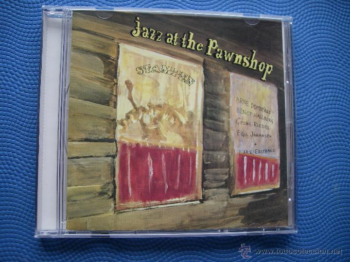ARNE DOMNERUS & FRIENDS JAZZ AT THE PAWNSHOP CD ALBUM DINAMARCA 1990 PDELUXE (Música - CD's Jazz, Blues, Soul y Gospel)