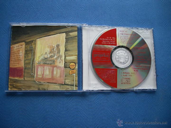 CDs de Música: ARNE DOMNERUS & FRIENDS JAZZ AT THE PAWNSHOP CD ALBUM DINAMARCA 1990 PDELUXE - Foto 2 - 50429179