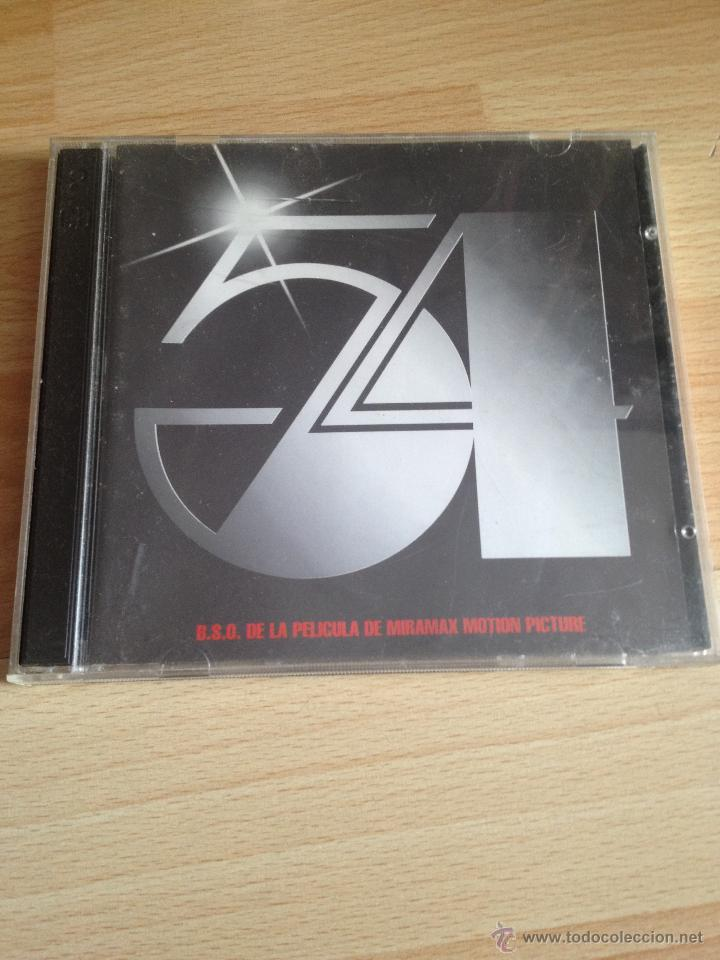 54, CD BSO SOUNDTACK (Música - CD's Bandas Sonoras)