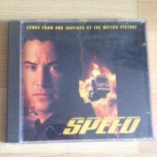 CDs de Música: SPEED, CD BSO SOUNDTRACK. Lote 50447000