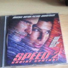 CDs de Música: SPEED 2, CD BSO SOUNDTRACK. Lote 50447036