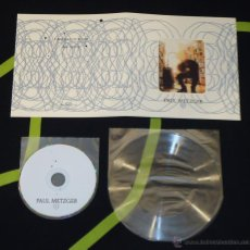 CDs de Música: PAUL METZGER - CANTICLE OF IGNAT / ALL GLASS - CD + LATHE 7'' [ARCHIVE, 2008 · LIM. 100] PSYCHEDELIC. Lote 50456648
