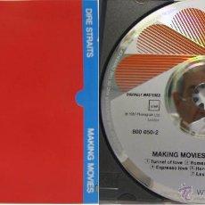 CDs de Música: CD--DIRE STRAITS--MAKING MOVIES---CON LIBRETO DE CANCIONES EN INGLÉS. Lote 50457360